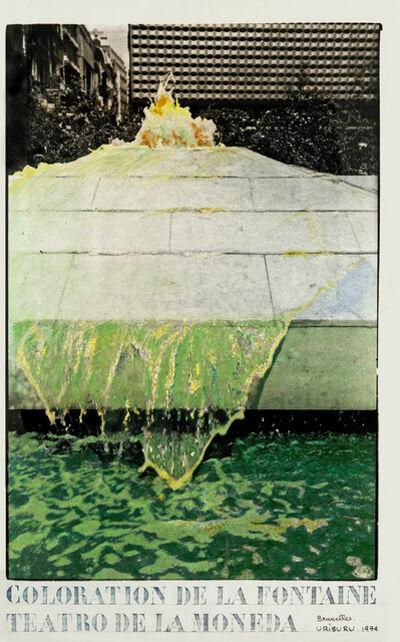 Nicolás García Uriburu, 'Coloration Bruxelles 74', 1974
