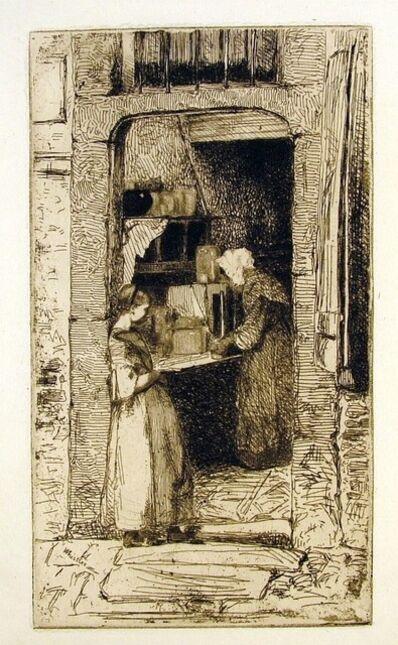 James Abbott McNeill Whistler, 'The Mustard Merchant: First State', 1858