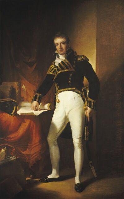 Thomas Sully, 'Captain Charles Stewart', 1811-1812