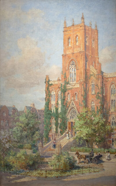 Colin Campbell Cooper, 'Hunter College', 1919