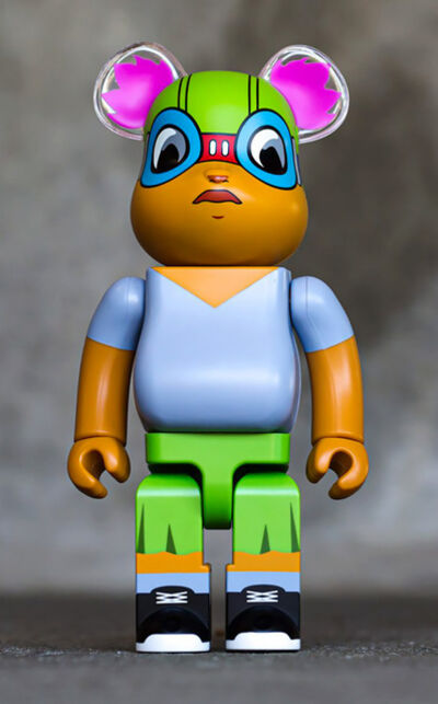Hebru Brantley, 'Hebru Brantley Lil Mama 400% Bearbrick (Hebru Brantley BE@RBRICK)', 2019