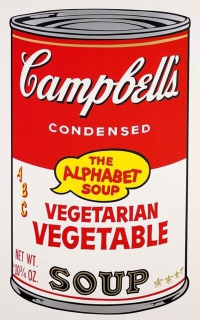 Andy Warhol, 'Vegetarian Vegetable Soup II. 56', 1969