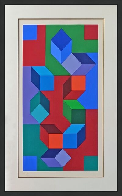 Victor Vasarely, 'COMPOSITION', 1967