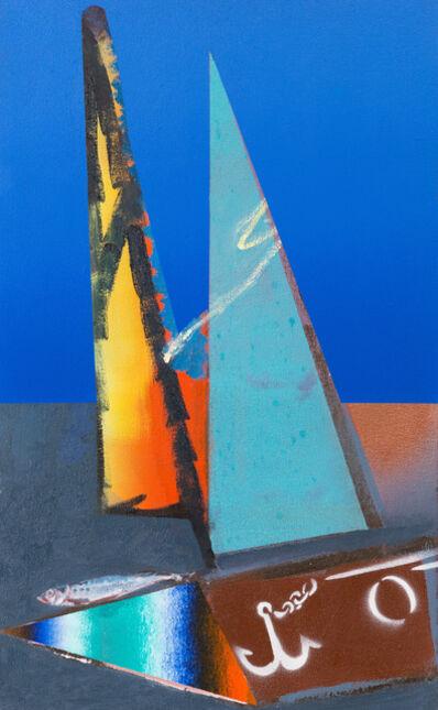 Alessandro Pessoli, 'Fronte del porto', 2015