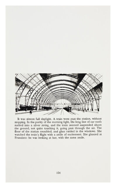 Yevgeniy Fiks, 'Ayn Rand in Illustrations (Atlas Shrugged, page 104)', 2010