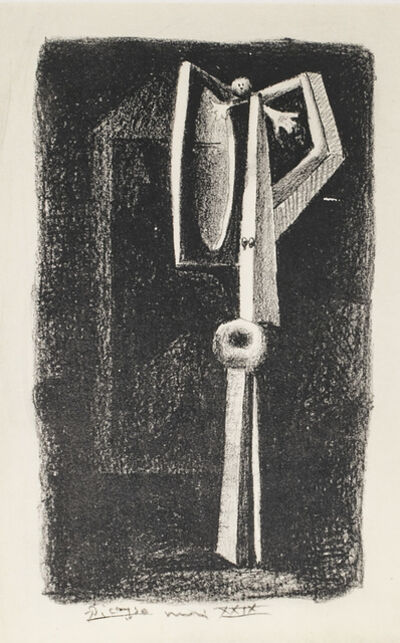 Pablo Picasso, 'Figure  , 1949 Limited edition Lithograph by Pablo Picasso', 1949