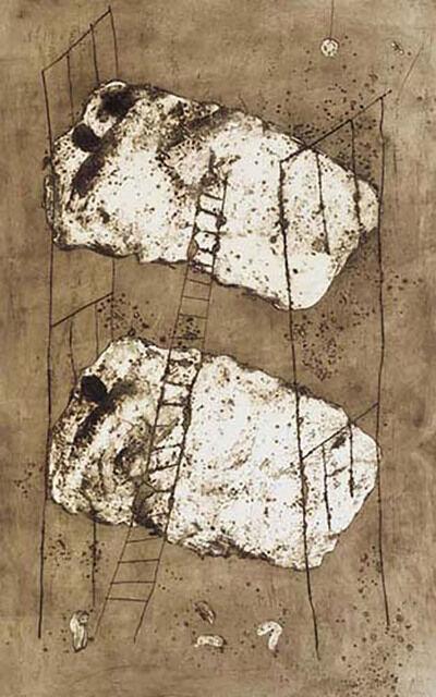 Miquel Barceló, 'Lits superposes I', 1987