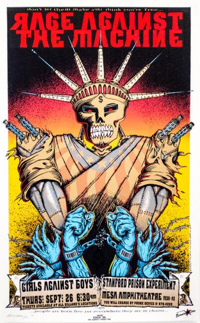 Emek, 'Rage Against the Machine War Machine ', 1996