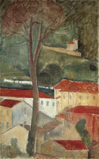 Amedeo Modigliani, 'Cagnes Landscape', 1919