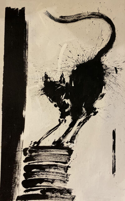 Richard Hambleton, 'Cat', 1990-1999