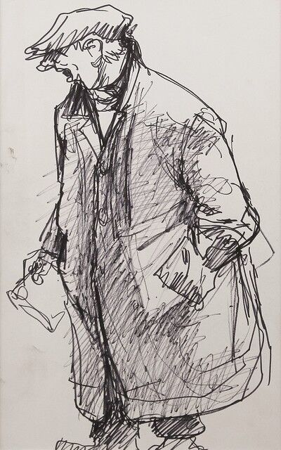 Norman Cornish, 'Funky Truman', ca. 1970