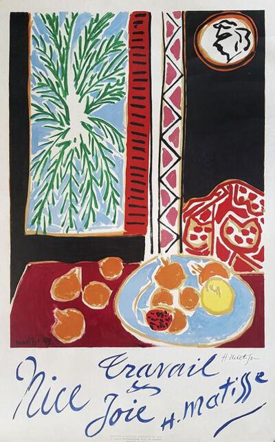 Henri Matisse, 'Nice Travail et Joie', 1947