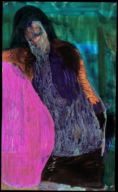 Beverly Semmes, 'Pink Rock', 2014