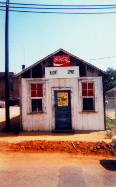 William Christenberry, 'Night Spot, Marion, Alabama, 1972', 1972