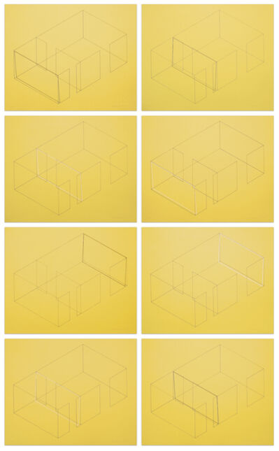 Fred Sandback, 'Variations for Gallery Heiner Friedrich', 1971-1973