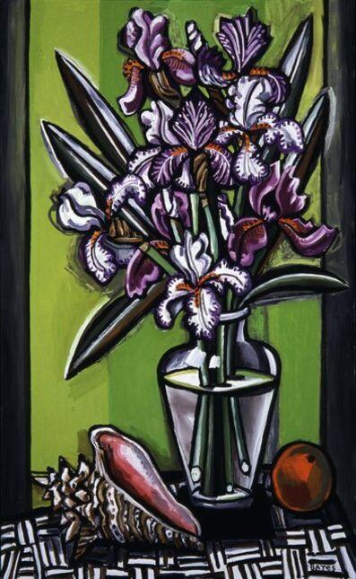 David Bates, 'Purple Iris and Shell', 2003