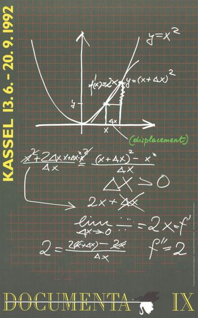 Marleen Deceukelier, 'Drawing Dietmar Guderian Leibniz, Newton and Displacement', 1992