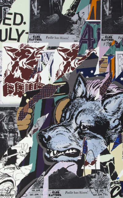 FAILE, 'Almost Rapture', 2016