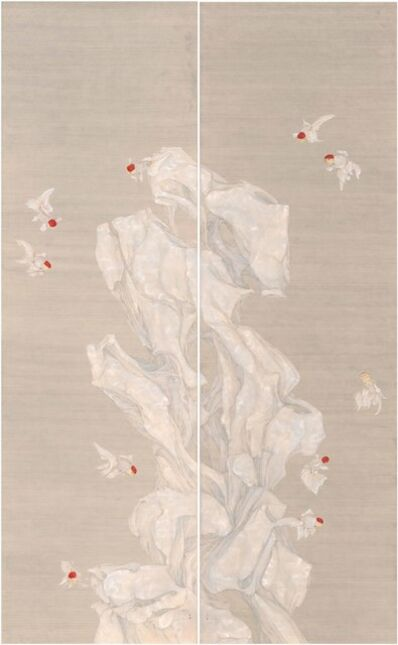 Gao Qian 高茜, 'Fish and Stone', 2016