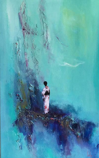Geraldine Laly, 'Waterfall's Murmur 1'