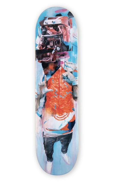 Joram Roukes, ''Dummy' Skateboard Deck', 2020