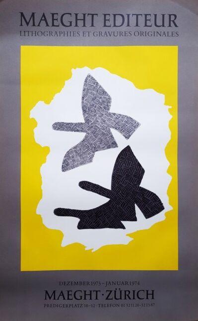 Georges Braque, 'Zurich (Les Trois Oiseaux en Vol)', 1974