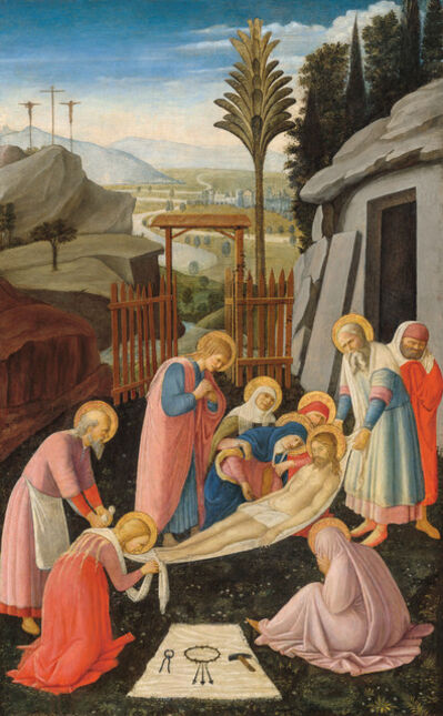 Fra Angelico, 'Entombment ', about 1450