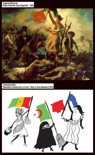 Memed Erdener a.k.a. Extrastruggle, 'Les Nouvelles Femmes de Delacroix', 2010
