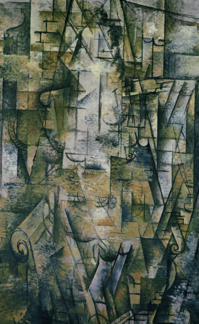 Georges Braque, 'Femme lisant (Woman Reading)', 1911