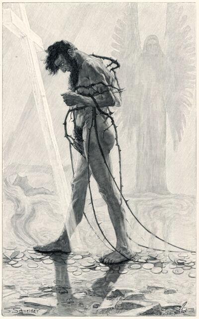 Sascha Schneider, 'Judas Ischariot', 1894-1895