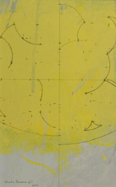 """Alberto Romero, '""""Geometría de ciruelas amarillas""""', 2017"""