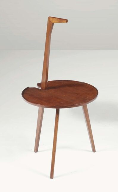 Franco Albini, 'A mod. Cicognino TN6 low table with a wooden structure', 1950 ca.