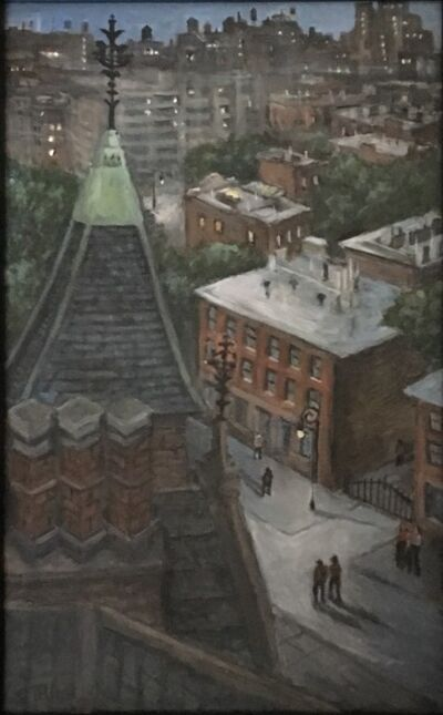 Carole Teller, 'Jefferson Market Library Rooftop View', 2019
