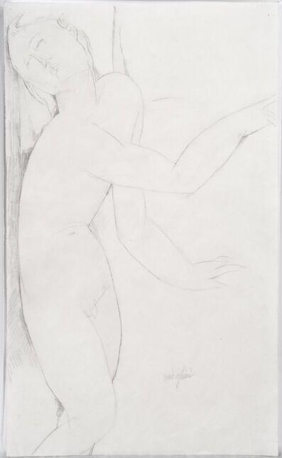 Amedeo Modigliani, 'Nudo maschile in piedi', 1916