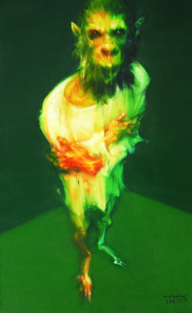 Wu Jianjun, 'Body Depiction - Me', 2006