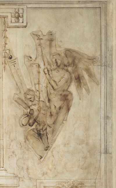 Filippino Lippi, 'Two Angels Carrying Torches', ca. 1501