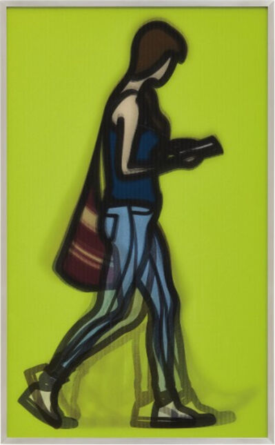 Julian Opie, 'Waitress, from Walking in London', 2014