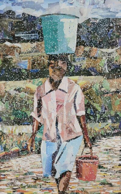 John Vusi Mfupi, 'Rivers Run Dry', 2017