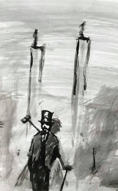 William Blake (b. 1991), 'Croquet Sketch', 2019