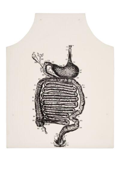 George Maciunas, 'Stomach Anatomy Apron', 1975