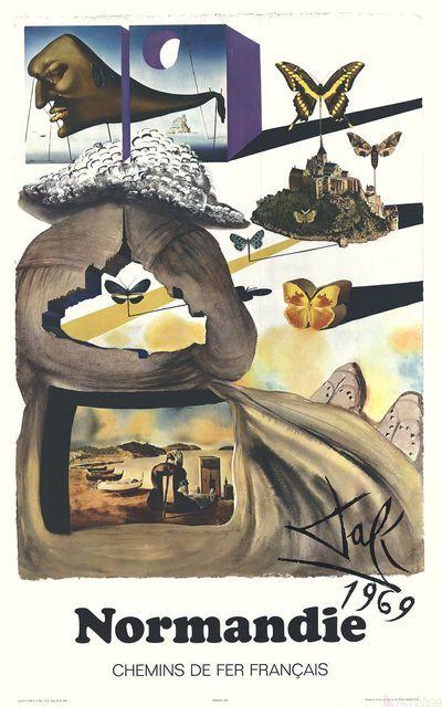 Salvador Dalí, 'Normandie', 1970