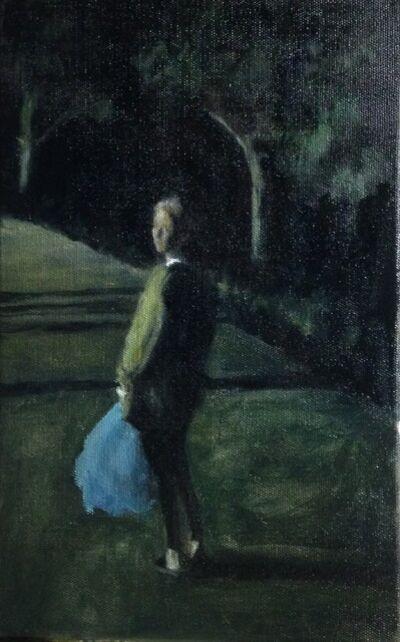 Sandrine Rondard, 'La femme au sac ', 2016