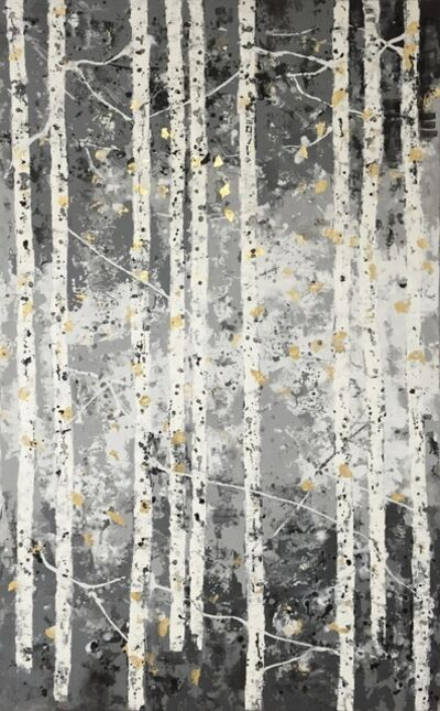 Chelsea Davine, 'Pale Grey Woods', 2021