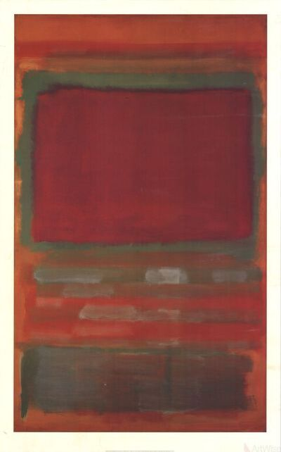Mark Rothko, 'Untitled, #15', (Date unknown)