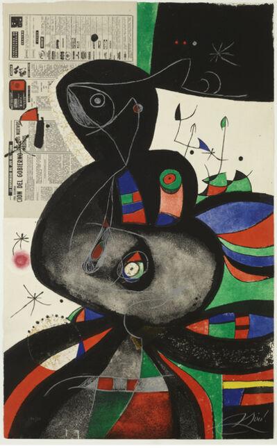 Joan Miró, 'Gaudi XXI', 1979