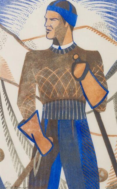 Lill Tschudi, 'The Skier (Coppel LT 34)', 1933
