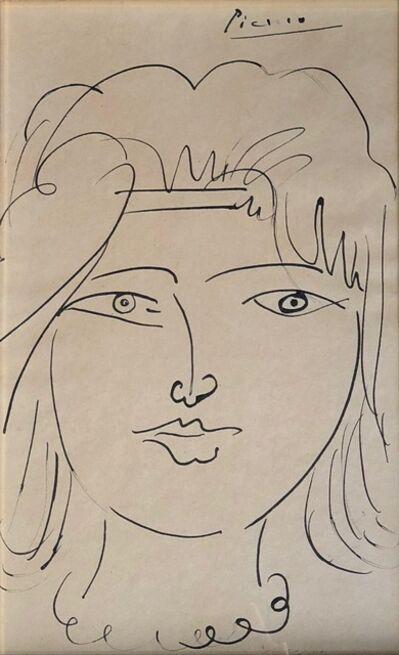 Pablo Picasso, 'Tete de Jeune Femme', 1950