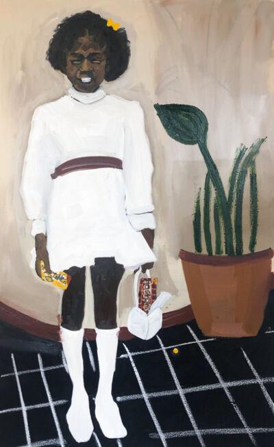 Jerrell Gibbs, 'Girl in a white dress ', 2020