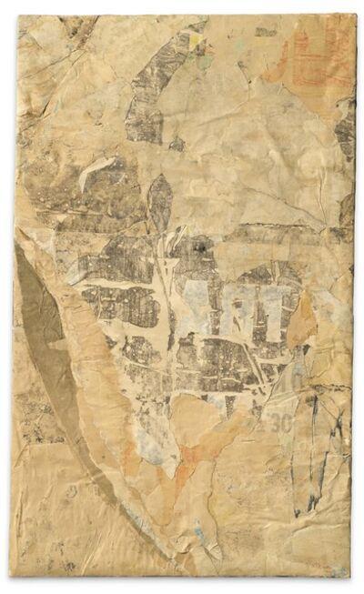 Mimmo Rotella, 'A Mezza Luna', 1960