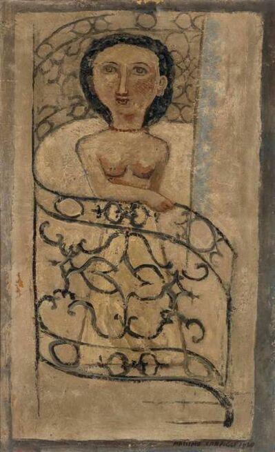 Massimo Campigli, 'Woman on Banister', 1930